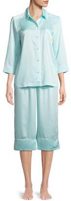 Kate Spade Mrs. Bridal Cropped Pajama Set