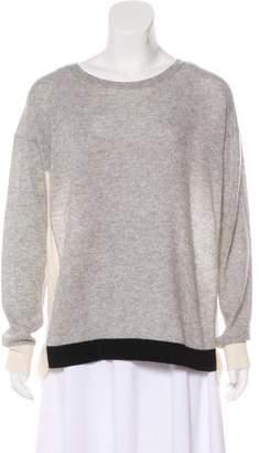 White + Warren Cashmere Colorblock Sweater