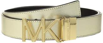 MICHAEL Michael Kors Reversible Chain Logo Hardware Belt Women's Belts