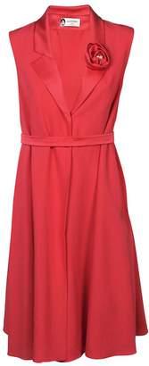 Lanvin Rosette Detail Dress