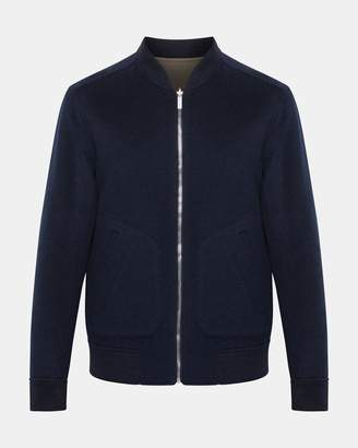 Theory Reversible Cashmere Bomber Jacket