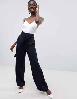Asos wide leg pants with high waist
