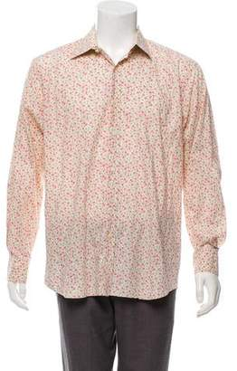 Paul Smith Floral-Printed Button-Down