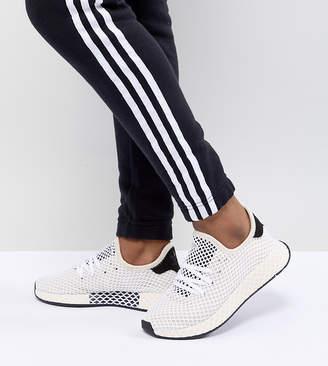 adidas Deerupt Runner Sneakers In White