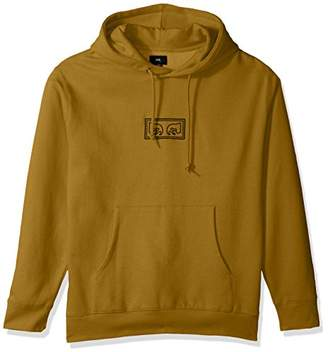 Obey Men's These Eyes Hooded Fleece Sweatshirt