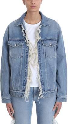 IRO Motivation Fringes Blue Jacket