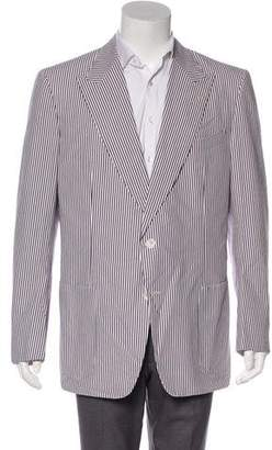 Tom Ford Striped Seersucker Blazer