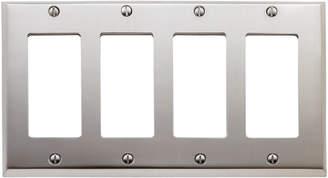 Rejuvenation Lewis Quad GFCI Switchplate