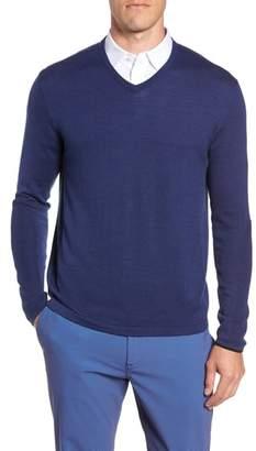 Blend of America GREYSON Guide Merino Wool V-Neck Sweater