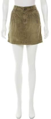 Burberry Mini Pencil Skirt