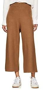 ROUCHA Women's Merino Wool Wide-Leg Pants-Camel