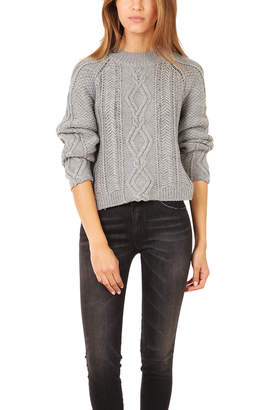 3.1 Phillip Lim Mixed Cable Pullover