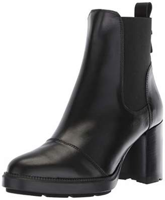 Aquatalia Women's Ivory Calf Elastic Ankle Boot