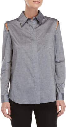 Milly Cassie Button-Down Shirt
