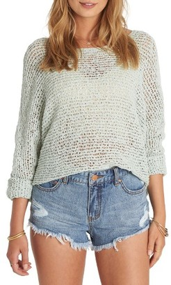 Women's Billabong Dance With Me Knit Sweater $59.95 thestylecure.com