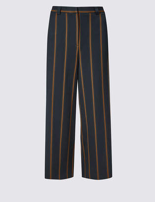 Limited Edition Striped Cropped Trousers