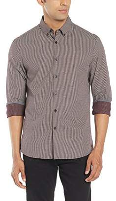 Kenneth Cole New York Men's LS Slim Bdc Lined
