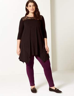 Marks and Spencer CURVE Cotton Rich Leggings