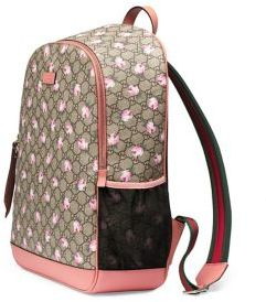 Gucci Mum GG Flowers Backpack Diaper Bag $1,490 thestylecure.com
