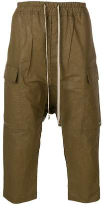 Rick Owens drop-crotch cargo trousers