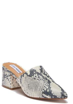 Steve Madden Bishop Snake Embossed Mule