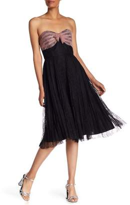 Anna Sui Garden Lace Sleeveless Dress