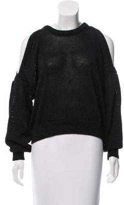 Designers Remix Charlotte Eskildsen Flynn Open-Shoulder Sweater w/ Tags