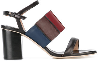 Paul Smith strappy block heel sandals $495 thestylecure.com