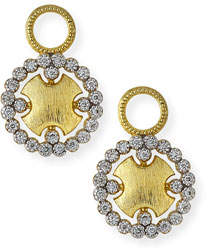 Jude Frances Provence Round Earring Charms with Diamonds