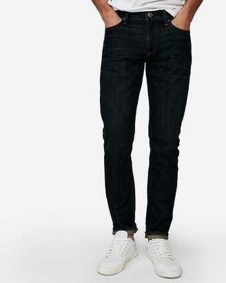 Express Skinny Dark Wash Soft Cotton Jeans