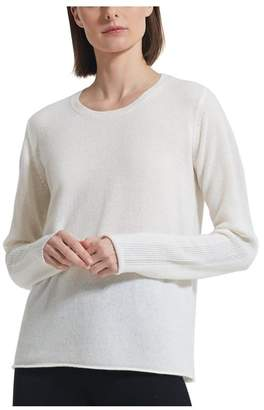 ATM Anthony Thomas Melillo Sparkle Cashmere Crew Neck Sweater - Exclusive
