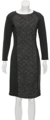 Max Mara Weekend Virgin Wool Tweed Dress