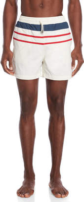 Solid & Striped The Classic Color Block Swim Trunks