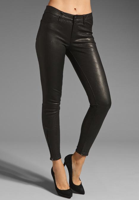 J Brand Leather Pant