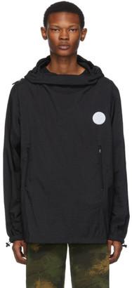 Off-White Black Packable Rain Jacket