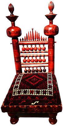 One Kings Lane Vintage Punjabi Indian Wedding Chair