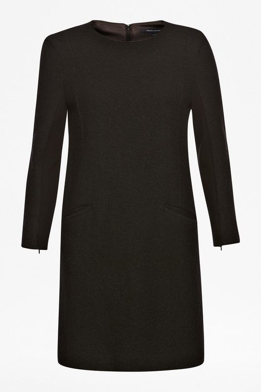 French Connection Winter Walk Textured Shift Dress