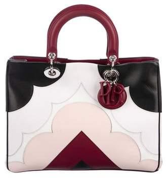 Christian Dior Leather Diorissimo Bag