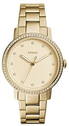 Women's Fossil Neely Bracelet Watch, 35Mm $135 thestylecure.com