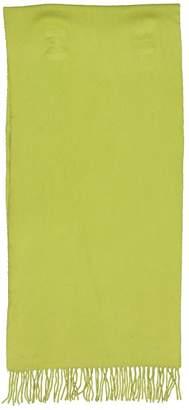 Hermes Vintage Green Cashmere Scarves