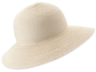 Eric Javits Squishee IV Woven Round-Dome Sun Hat $198 thestylecure.com