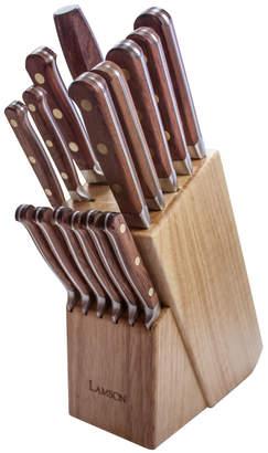 Sur La Table Lamson Rosewood Forged 16-Piece Block Set