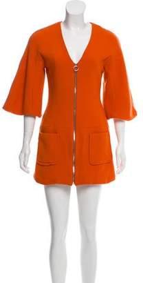 Alexis Wool Zip-Up Dress