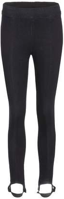 Helmut Lang Cotton-blend stirrup trousers