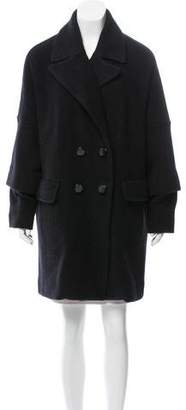 Marc by Marc Jacobs Wool & Angora-Blend Coat w/ Tags