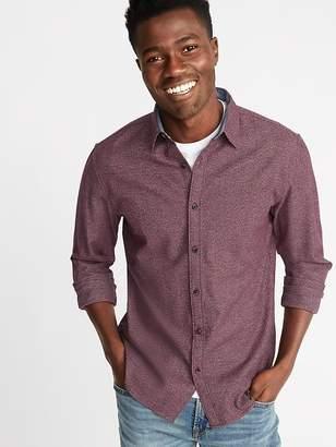 Old Navy Slim-Fit Textured Pattern Shirt for Men