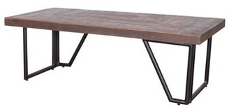 Foundry Select Bilodeau Mixed Wood Coffee Table Foundry Select