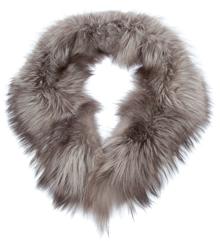 Rewind Vintage Affairs fox fur snood