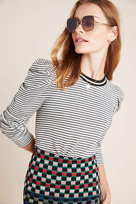 Anthropologie Kit Puff-Sleeved Pullover