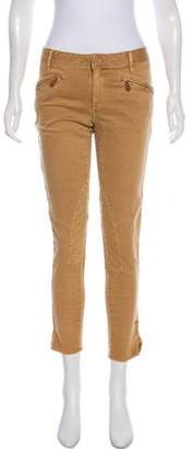 Ralph Lauren Sport Mid-Rise Skinny Jeans
